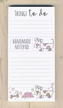 Dog Things To Do Notepad