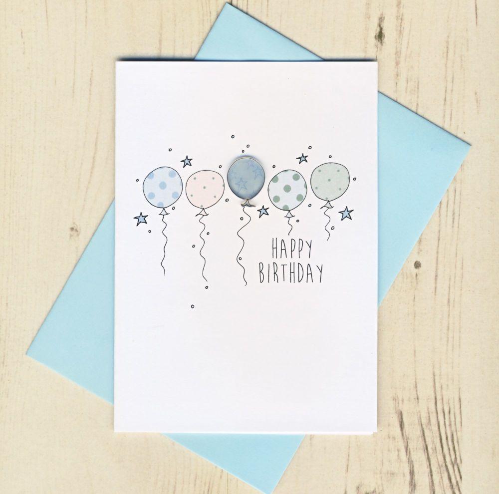 <!-- 003 -->Happy Birthday Balloons