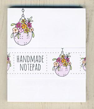 Hanging Basket Notepad