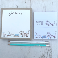 <!-- 007 -->Dog Stationery Gift Box