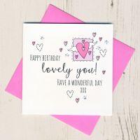 <!-- 013 --> Happy Birthday Lovely You