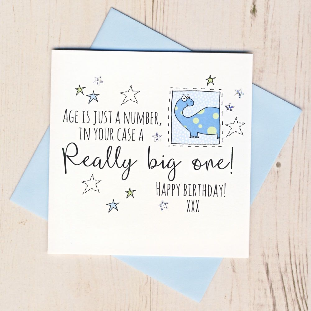 <!-- 001 --> Happy Birthday Dinosaur