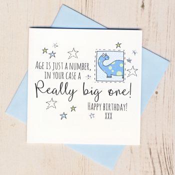 Happy Birthday Dinosaur