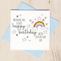 <!-- 015 --> Happy Birthday Rainbow