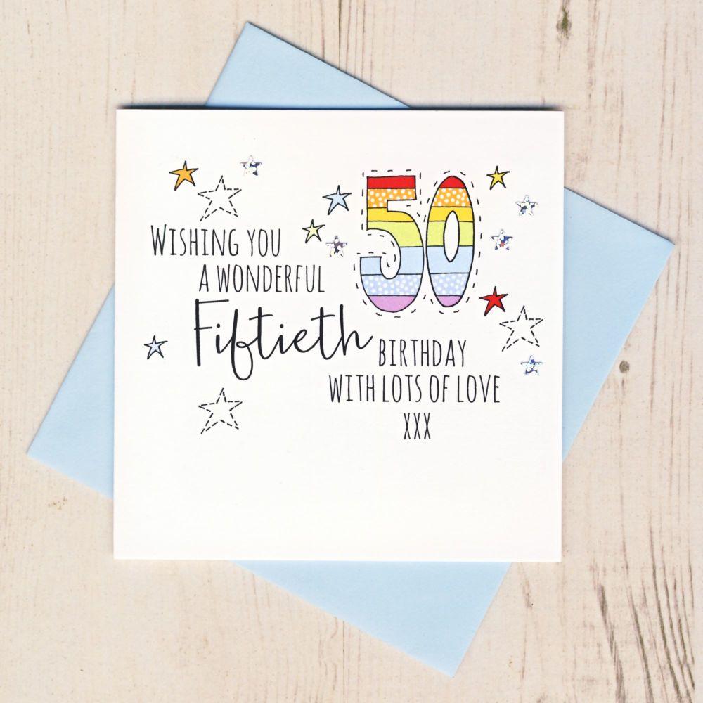 <!-- 001 --> Happy 50th Birthday