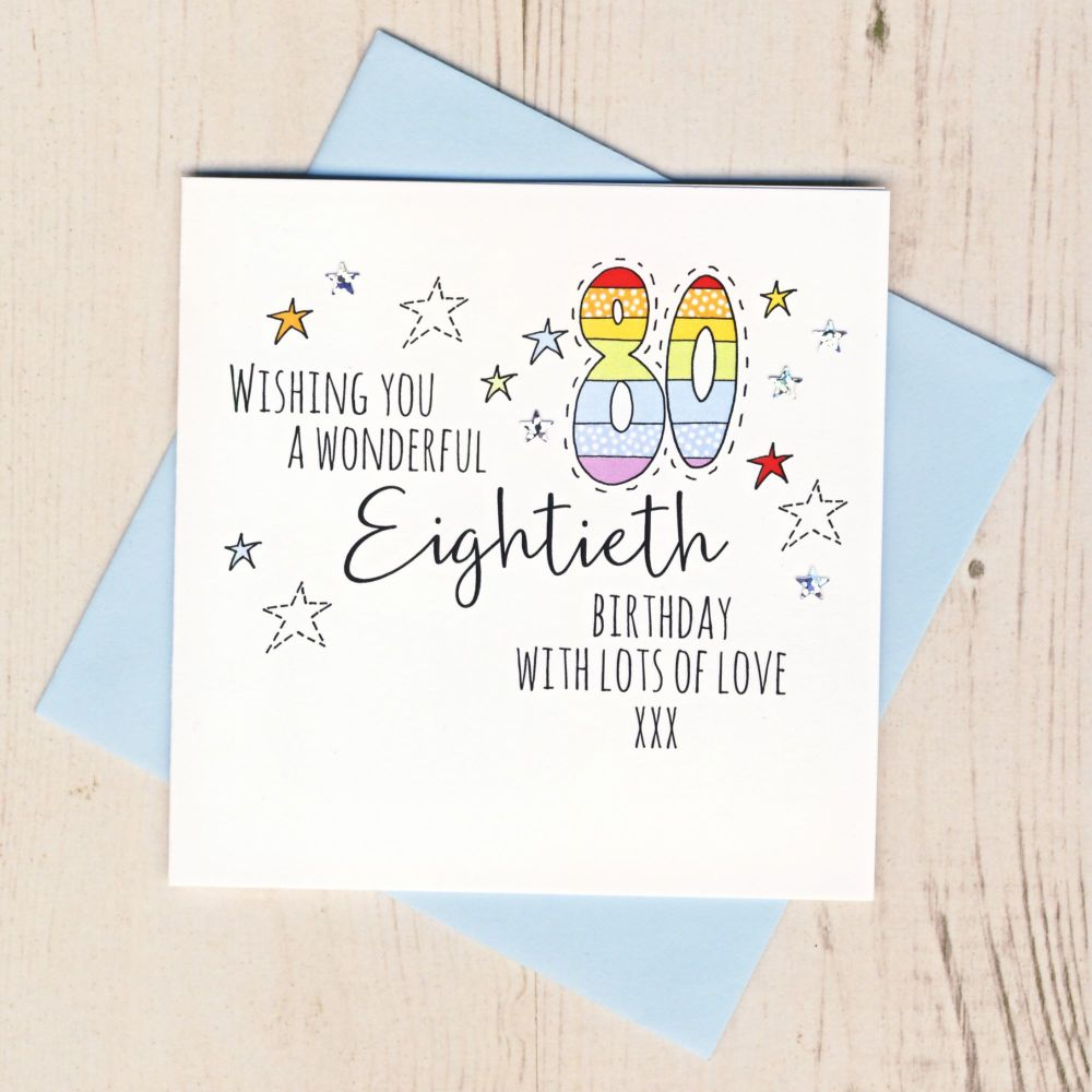 <!-- 001 --> Happy 80th Birthday