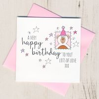 <!-- 015 --> Happy Birthday Pink Teddy