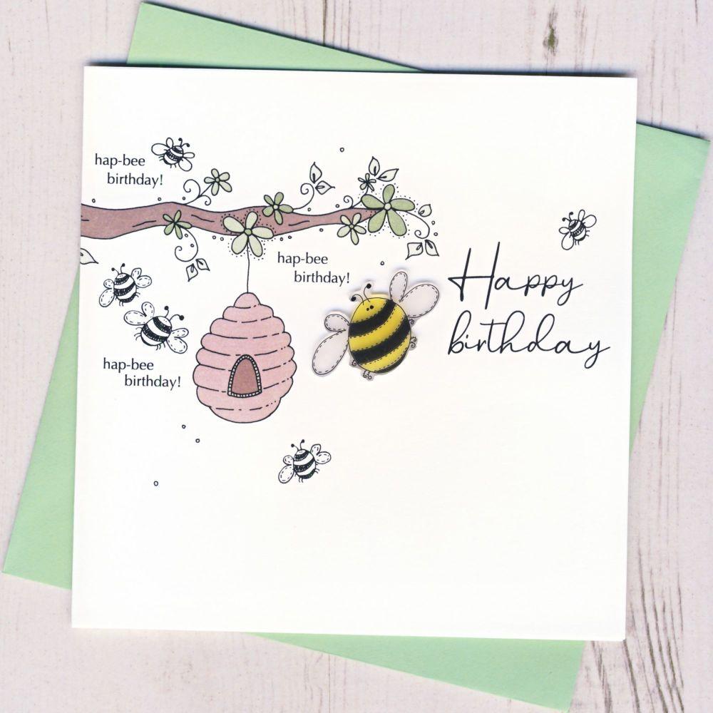 <!-- 001 -->  Hap-bee Birthday
