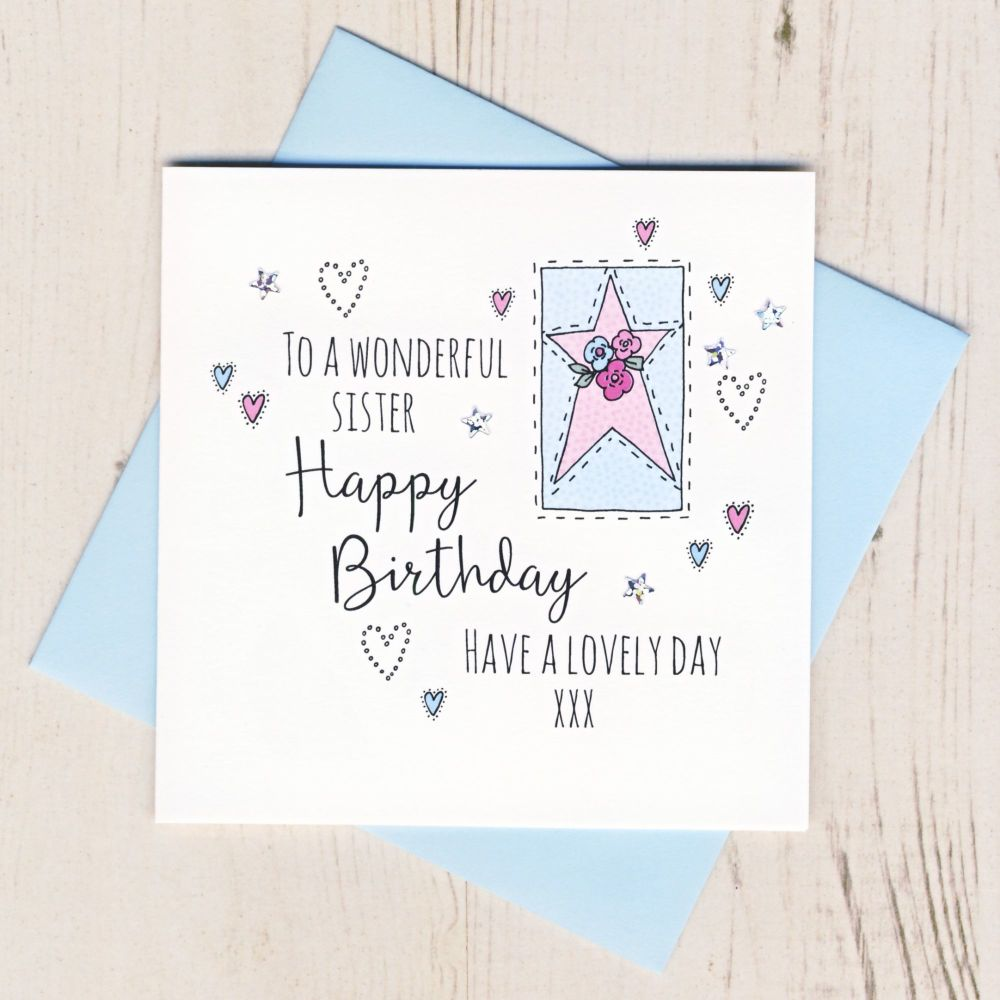 <!-- 001 --> Happy Birthday Sister