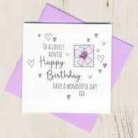 <!-- 001 --> Happy Birthday Auntie