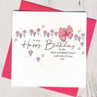 <!-- 001 -->  Happy Birthday Mum