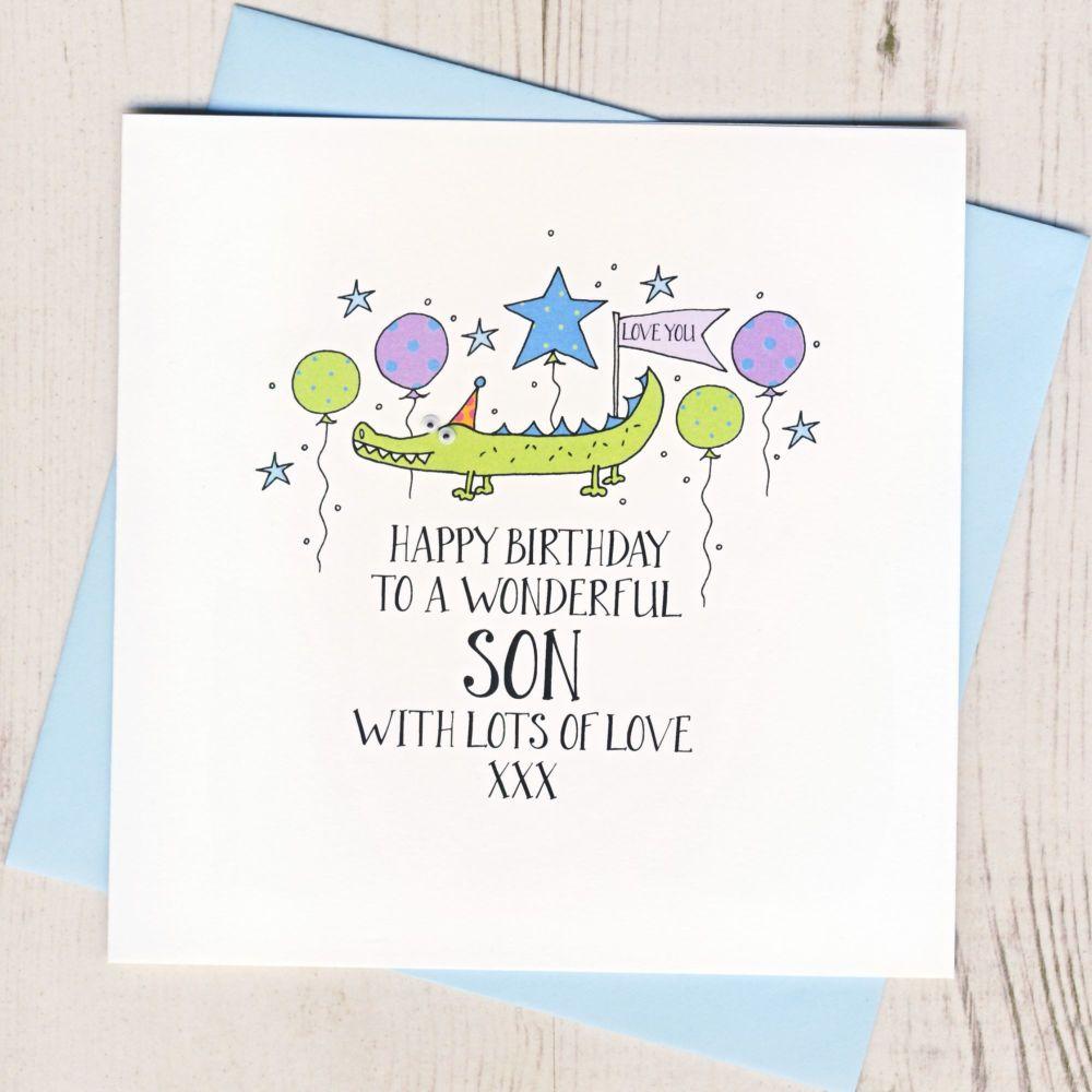 <!-- 002 --> Happy Birthday Son