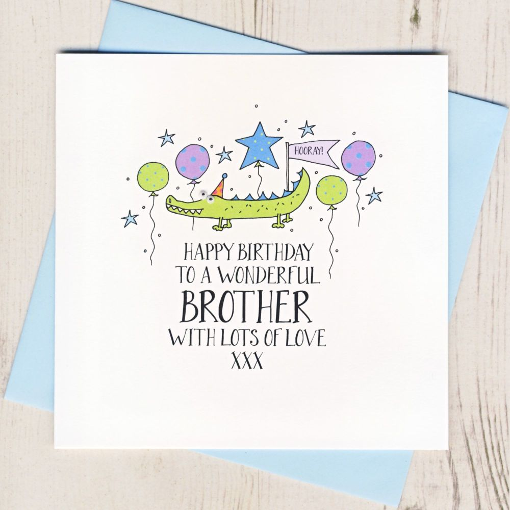 <!-- 002 --> Happy Birthday Brother