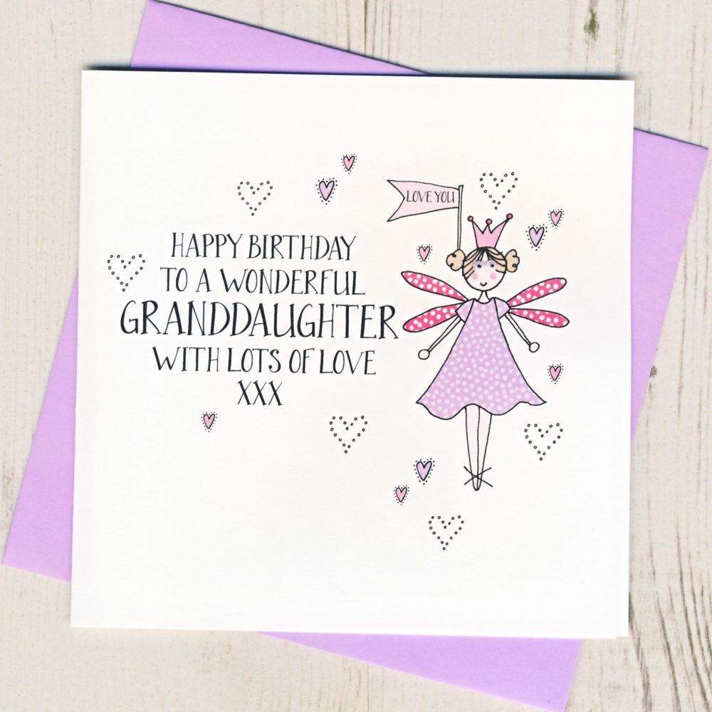 <!-- 002 --> Happy Birthday Granddaughter