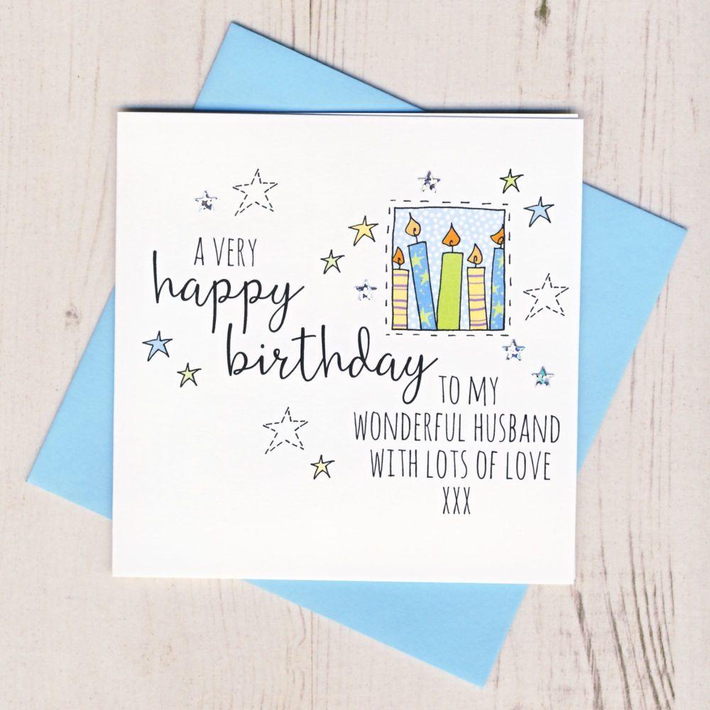 <!-- 001 --> Happy Birthday Husband