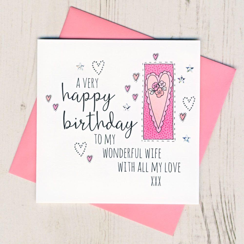 <!-- 001 --> Happy Birthday Wife