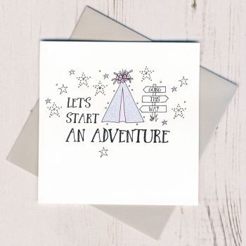 Let's Start An Adventure