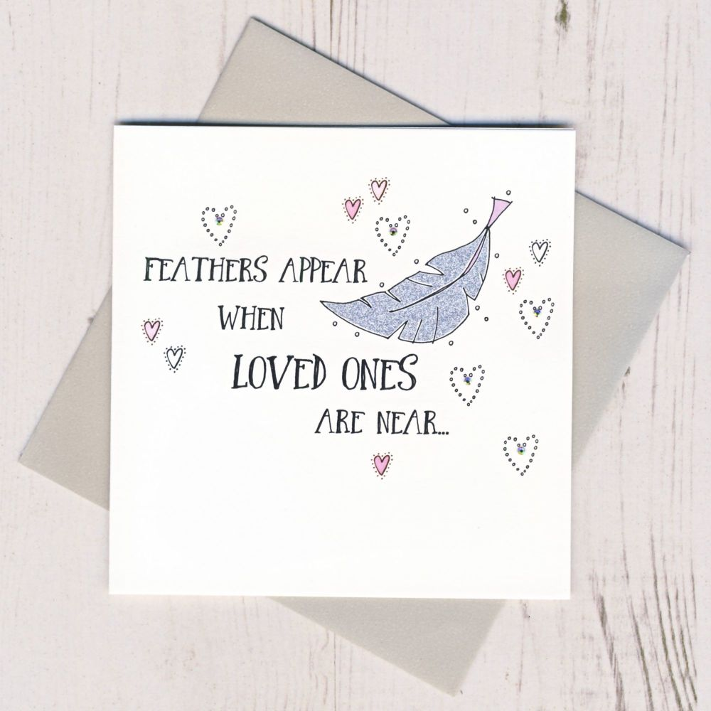 <!-- 009 --> Feathers Appear When Loved Ones Are Near