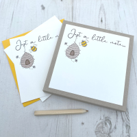 <!-- 001 -->Box of 12 Bee Notecards