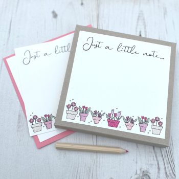 Box of 12 Flowerpots  Notecards