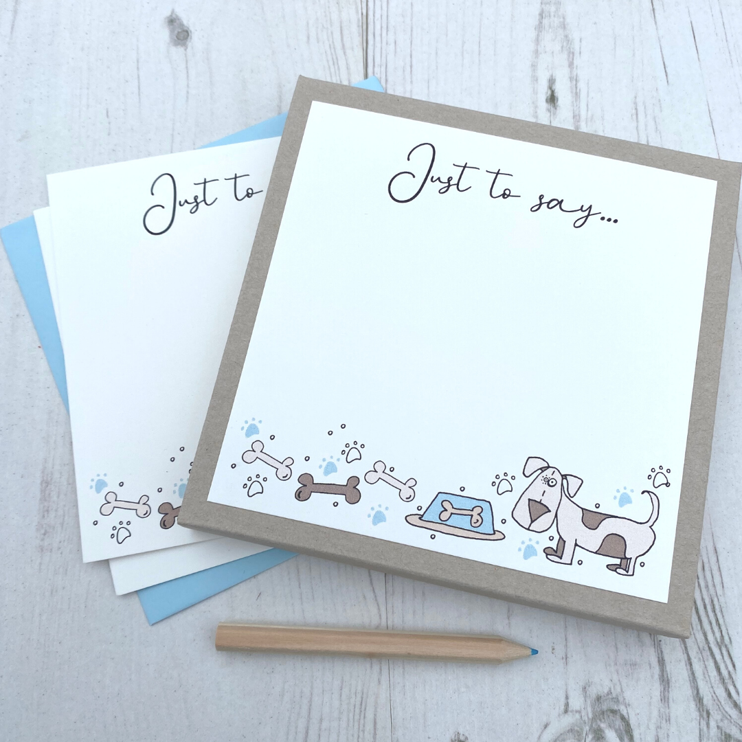 <!-- 007 -->Box of 12 Dog  Notecards