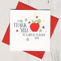 <!-- 001--> Teacher Thank You Card