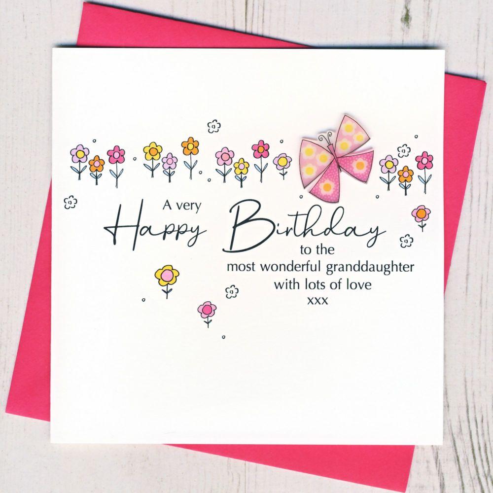 <!-- 001 -->  Happy Birthday Granddaughter