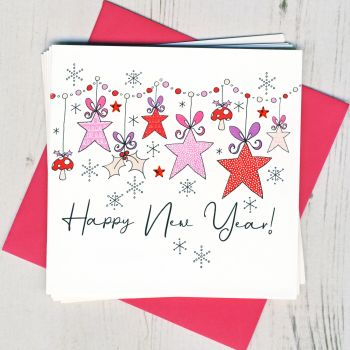 Pack of Five New Year Cards
