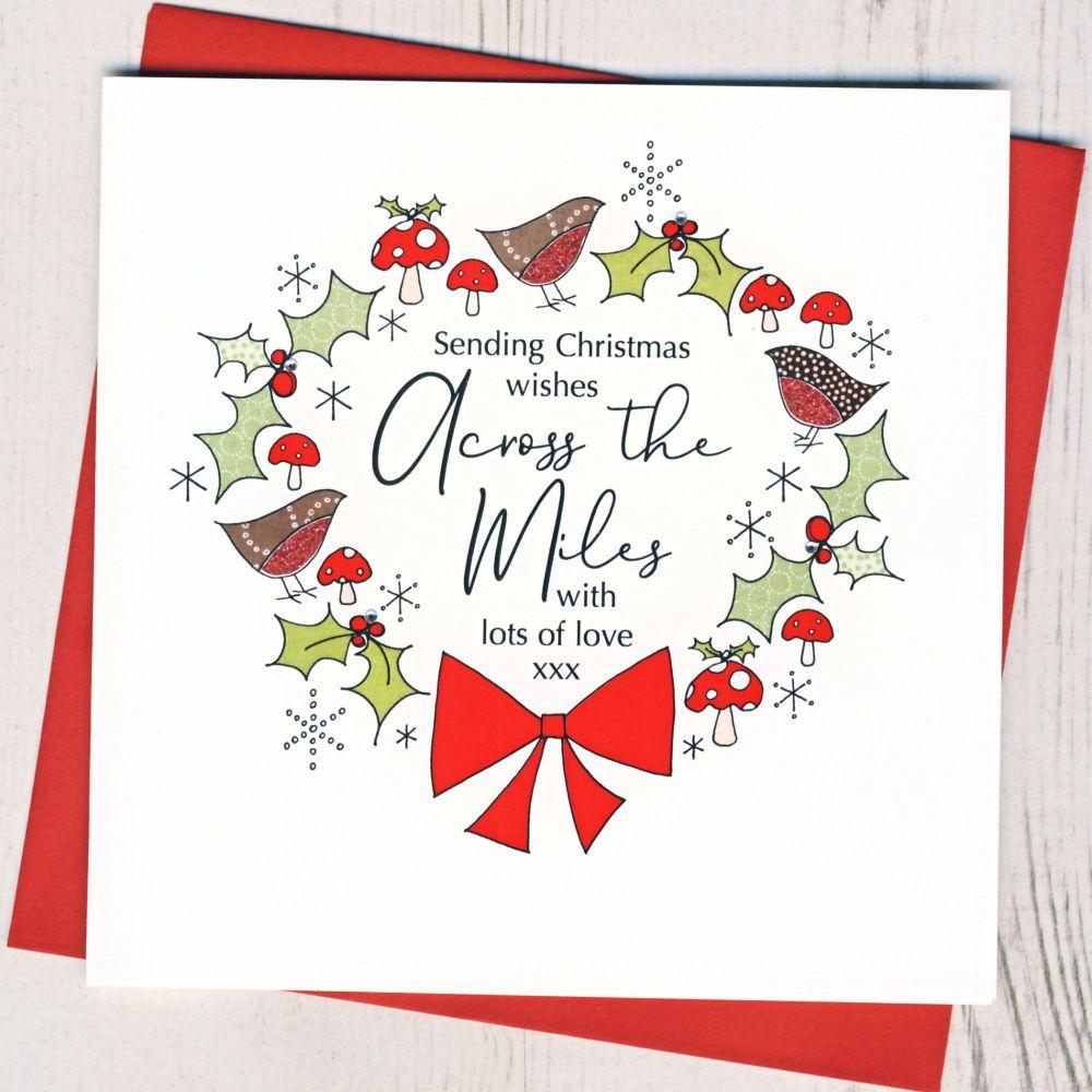 <!-- 001-->Across The Miles Christmas Card