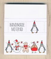 Christmas Characters Notepad