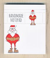 Christmas Santa Notepad