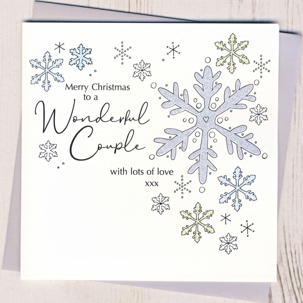 Special Couple Christmas Card
