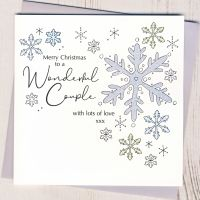 <!-- 001-->Wonderful Couple Christmas Card