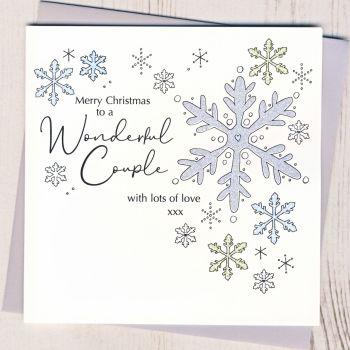 Wonderful Couple Christmas Card