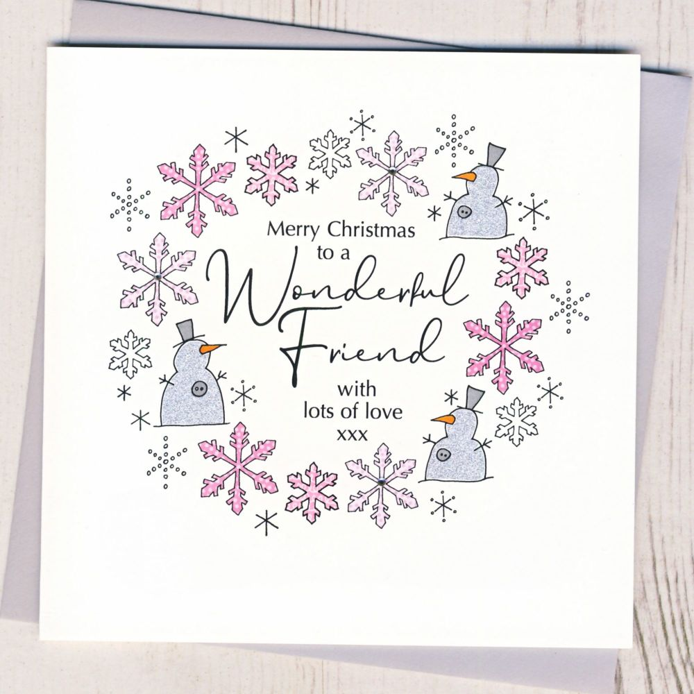 <!-- 001-->Friend Christmas Card