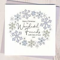 <!-- 001-->Friends Christmas Card