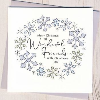 Friends Christmas Card
