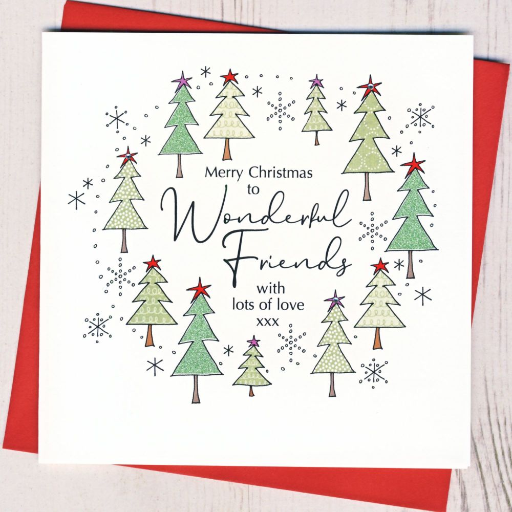 <!-- 001-->Friends Christmas Card