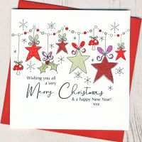 <!-- 001-->Wishing You All A Merry Christmas Card