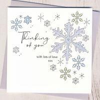 <!-- 001-->Thinking of You at Christmas Card