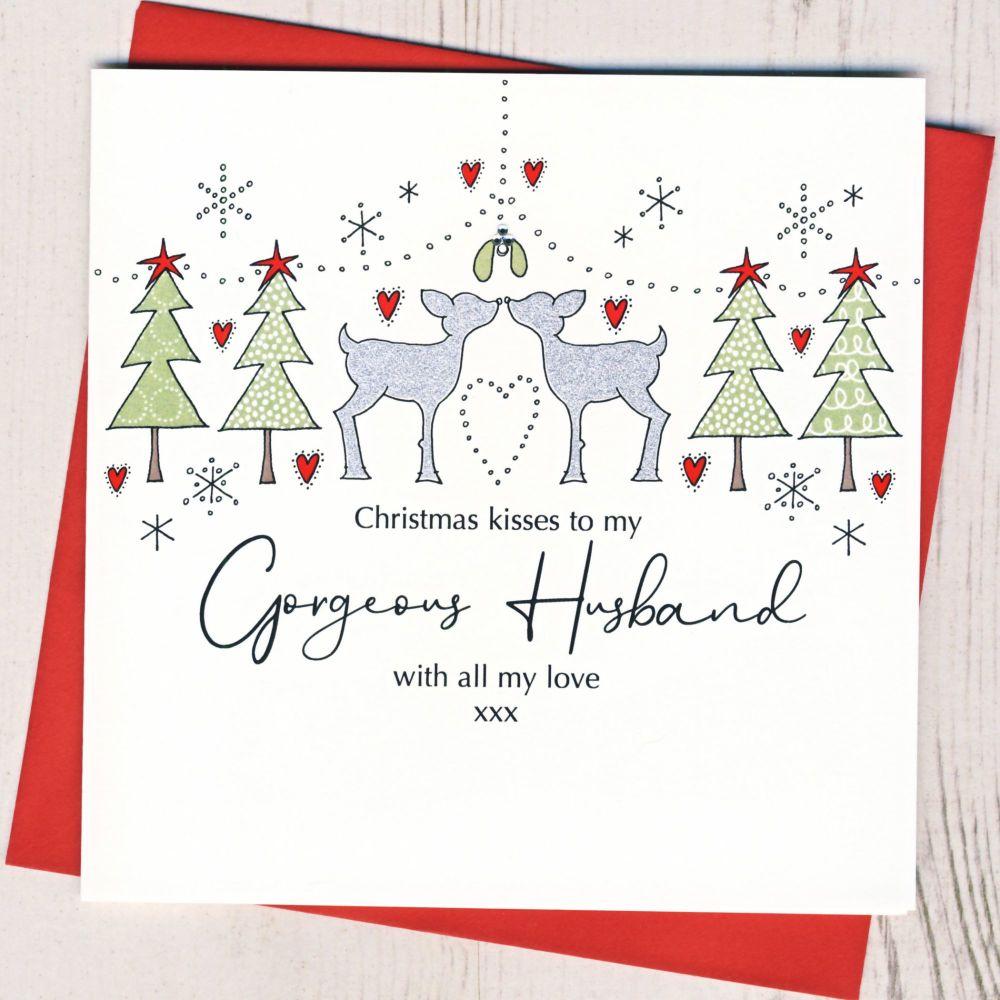 <!-- 001-->Husband Christmas Card