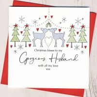 <!-- 001-->Husband Christmas Card