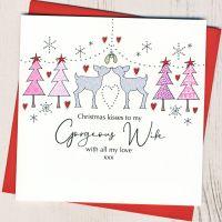 <!-- 001-->Wife Christmas Card