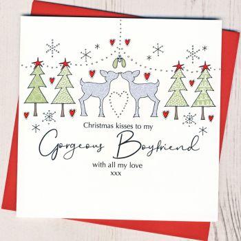 Boyfriend Christmas Card