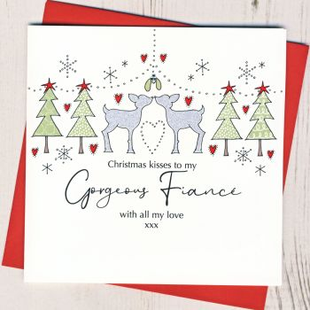 Fiance Christmas Card
