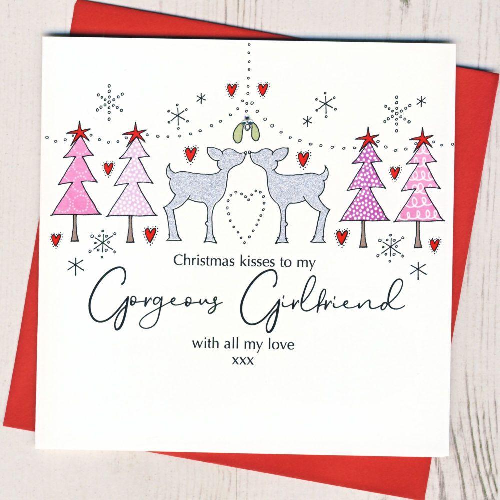 <!-- 001-->Girlfriend Christmas Card
