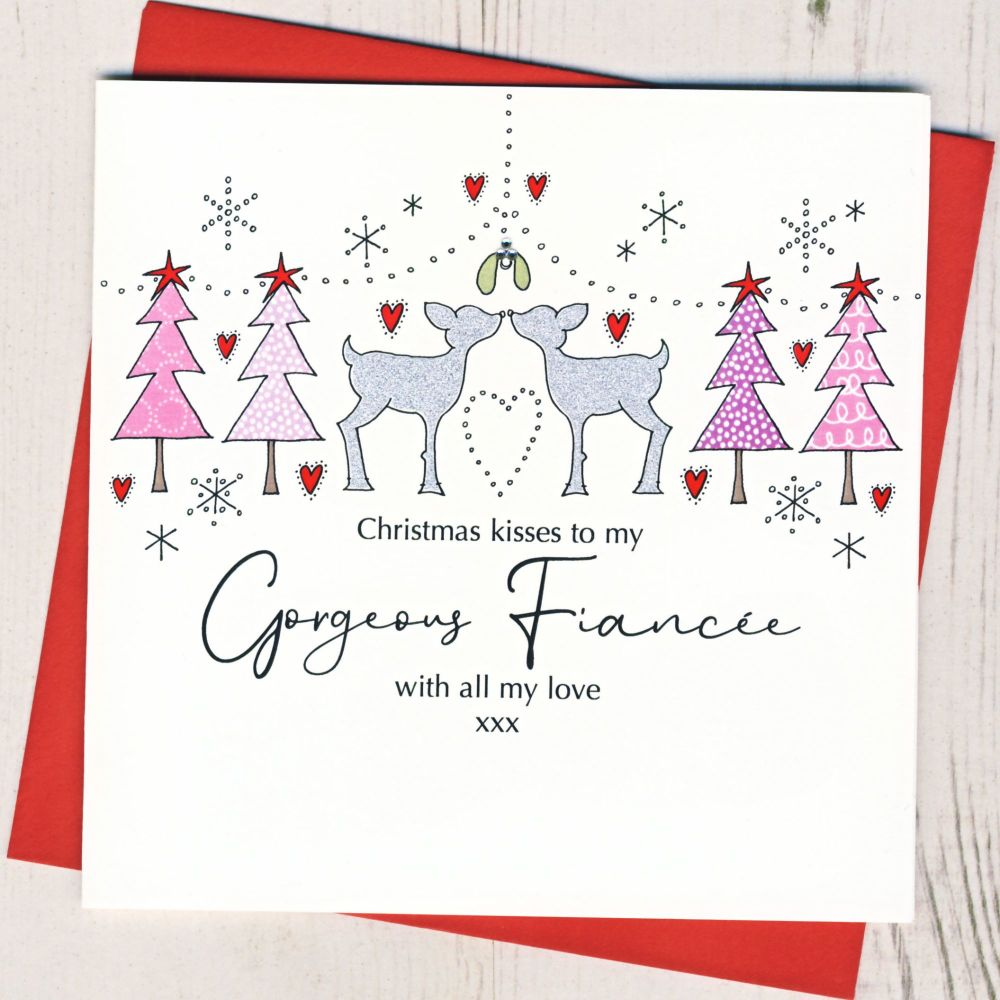 <!-- 005-->Fiancee Christmas Card