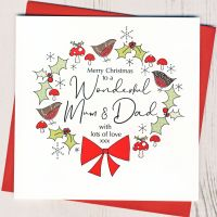 <!-- 001-->Mum & Dad Christmas Card