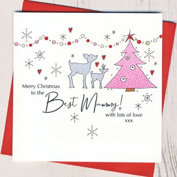 Mummy Christmas Card