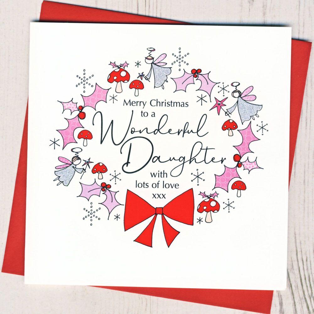 <!-- 001 -->Daughter Christmas Card